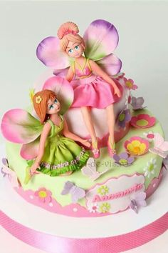 Wow! Beautiful fairy cake