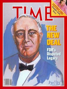 Franklin D. Roosevelt led a couple of new programs to help the economy during The Great Depression.