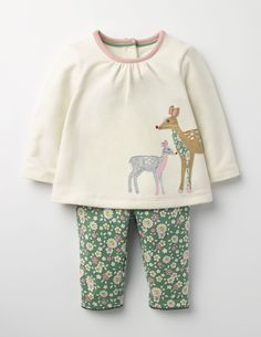 Animal Friends Jersey Play Set Y0084 Tops & T-shirts at Boden