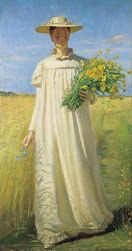 Anna Ancher returning from the field