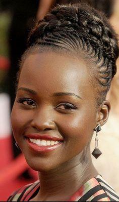 Black Actresses, Black Actors, Black Celebrities, Celebs, Dark Skin Beauty, Black Beauty, Hair Beauty, Natural Afro Hairstyles, Braided Hairstyles