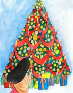 «La petite fille aux allumettes», histoire que j'ai illustrée pour eBooKids.com