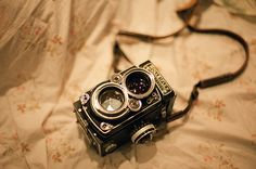 Rolleiflex-- I've always wanted one of these