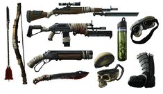 post apocalyptic weapons concept - Google Search                              …