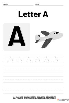 A to Z Race! Finish the Alphabet Worksheets for Kids