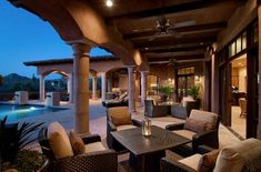 Creating beautiful and comfortable outdoor living spaces gives a great opportunity to enjoy warm seasons