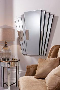 Espejo Art Decó de cristal Gatsby - Ámbar Muebles