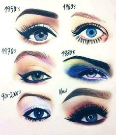What kind of girl are you? Whatever your look we can get you there at Escapes Spa Makeup Videos, Makeup Tips, Mua Makeup, Makeup Eyeshadow, Makeup Cosmetics, Illusion Kunst, Eye Color Chart, Eye Shadow Application, Eyebrow Trends