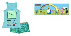 """""""Adventure Time Pjs"""" by themusicgeek32 on Polyvore"""