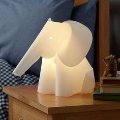 Kids' Nightlights: Elephant Lamp Nightlight in Nightlights