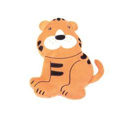 Poduszka FLAT tygrys #pillow #tiger #kids #dream #gift #prezent  http://www.mojebambino.pl/poduszki-i-przytulanki/6841-poduszka-flat-tygrys.html
