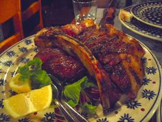 Tuscan Cuisine: A Tuscan steak for two at Trattoria dei 13 Gobbi in Florence http://destinationfiction.blogspot.ca/2015/02/my-bucket-list-firenze.html
