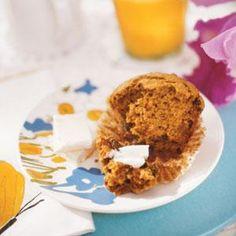 Spiced Bran Muffins Recipe   MyRecipes.com
