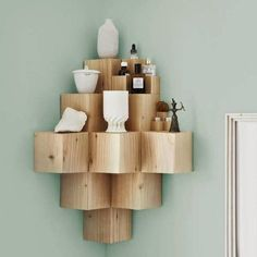 Méchant Studio Blog: geometric shelving