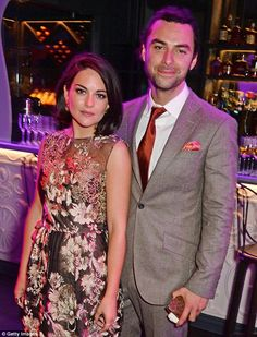 No wedding bells? According to the Sunday Express Poldark's Aidan Turner proposed to his girlfriend Sarah Greene just after Christmas but she has denied it