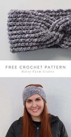 Hannah here. Its been a few weeks since Ive had a chance to crochet anything new because Mode Crochet, Crochet Twist, Chunky Crochet, Knit Or Crochet, Crochet Scarves, Crochet Crafts, Double Crochet, Crochet Projects, Crochet Beanie