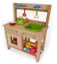Neu! Kinder Outdoor Matsch Küche | Holz Spielzeug Peitz