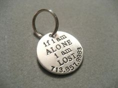 Tag for your pets collar.