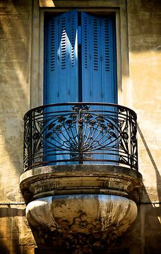 Provence balcony