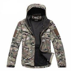 Military Windbreaker Jacket Coat   Furrple