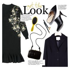 """""""Get the look"""" by punnky ❤ liked on Polyvore featuring Fendi, Haute Hippie, Bobbi Brown Cosmetics and Drybar"""