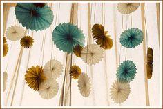 pinwheels and ribbons
