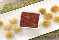 Cheesy Garlic Bread Poppers take 15 minutes to make and will be all the rave at your party.