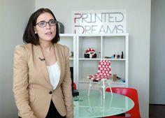 Rosa Nieves León, Co-funder Printed Dreams, muestra las distintas aplicaciones que realizan de la tecnología 3D, entre ellas la creación de órganos y tejidos. #potenciatupyme