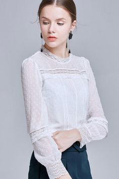 See Through Lace Blouse – The Other Sparrows