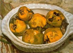 Still Life (Quinces) - Lucian Freud