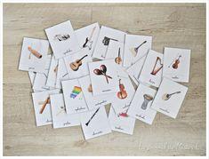 Les instruments de musique pour tout-petit - Le journal de Mister L