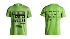 Startup Weekend Youth Fortaleza. Building my Future T shirt