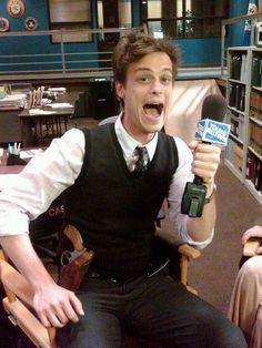 sweet, adorable, dork Matthew Gray Gubler - the man you know as Dr. Spencer Reid