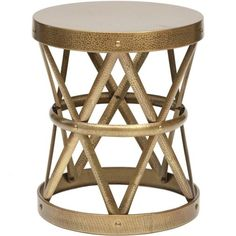 Costello Iron Side Table (in stock @ High Fashion Homes)