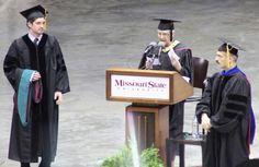Proud momma - congrats Dr Baker