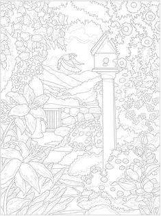 Welcome to Dover Publications - Creative Haven Glorious Gardens Color by Number Coloring Book Dover Coloring Pages, Free Coloring, Coloring Books, Coloring Stuff, Colorful Drawings, Colorful Pictures, Color By Number Printable, Printable Adult Coloring Pages, Color By Numbers