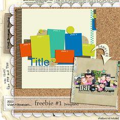 Template #freebie from Just Because  #scrapbook #digiscrap #scrapbooking #digifree #scrap