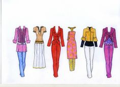 Изображение * 1500 free paper dolls at Arielle Gabriel's The International Paper Doll Society and also free paper dolls at The China Adventures of Arielle Gabriel *