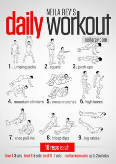 Great Home Workouts That Don't Rely on Equipment