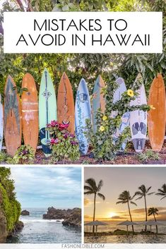 Mistakes you should avoid when planning a trip to Hawaii including mispronounciation of popular words, what to expect when you get there and how to enjoy nature legally. Go Hawaii, Visit Hawaii, Hawaii Life, Trip To Maui, Hawaii Vacation, Vacation Ideas, Turtle Beach, Pearl Harbor, Kauai