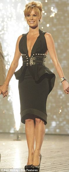 Amanda Holden wears J'aton dress obsessed!!!!!!