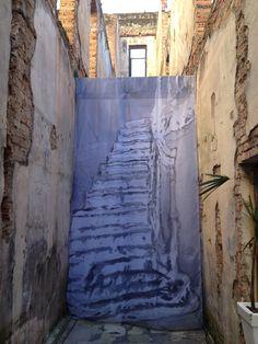 Intervenção A Escada Imaginária, 2013