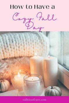 Tips and ideas on how to enjoy a fall day and get super cozy this autumn. #hygge Fall Scents, Home Scents, Fall Potpourri, House Smells, Modern Farmhouse Decor, Autumn Day, Essential Oil Diffuser, Natural Living, Candle Jars