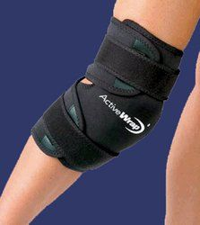 ActiveWrap Knee/Calf Hot & Cold Therapy Small/Medium by Swede-O. $54.95. Hot and Cold Compress Therapy for the knee, calf & thigh. 2 soft-gel therapy packs included for hot or cold therapy. The soft-gel therapy packs mold and stay soft even when frozen. 2 fully movable soft-gel packs may be placed anywhere inside the device for pinpoint placement over the traumatized area, and avoids icing areas that do not require treatment. Heavy-duty Neoprene design allows for com...