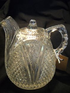EAPG Pattern Glass Massachusetts Rummer
