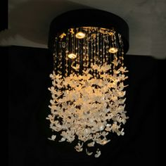 Gorgeous butterfly hanging light!