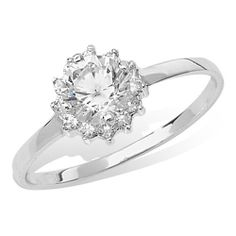 Sterling Silver Fancy Solitaire Ring €15 Cubic Zirconia Rings, Solitaire Ring, Bling, Fancy, Engagement Rings, Sterling Silver, Jewelry, Rings For Engagement, Jewellery Making