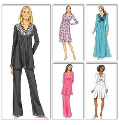 Butterick 5688 from Butterick patterns is a Misses' Top, Gown and Pants sewing pattern
