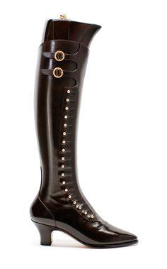 TYE SHOEMAKER Bespoke ladies Button Up Boots