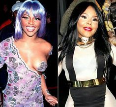 Lil Kim...before surgery and after